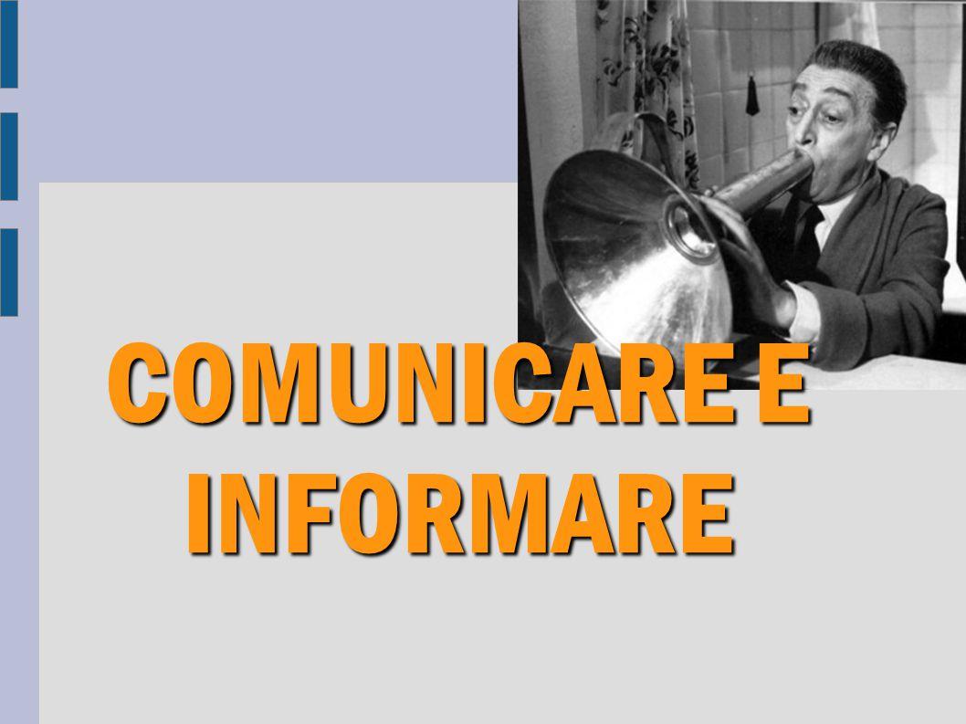 Comunicare «La Comunicazione è la trasmissione di un messaggio orale o scritto che avviene entro un contesto e attraverso un canale».