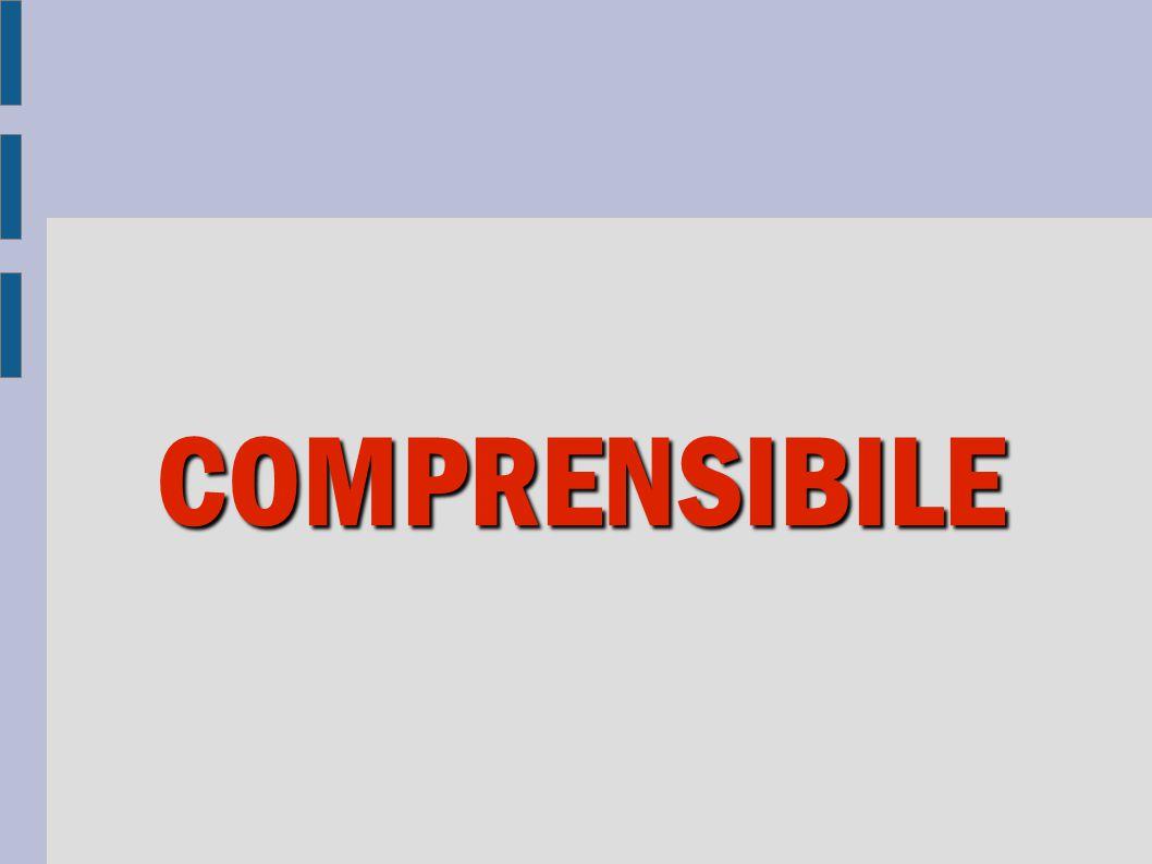 COMPRENSIBILE