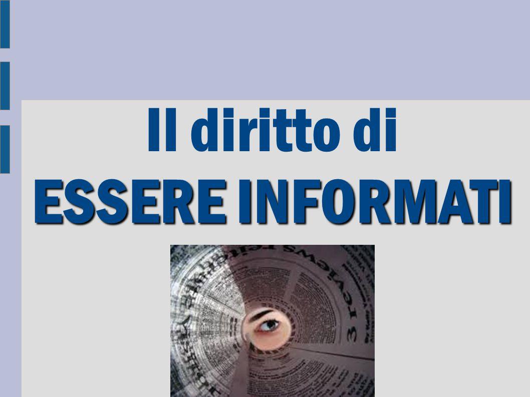 196/2003 Testo unico sulla privacy Art.1 Chiunque ha diritto alla protezione dei dati personali.