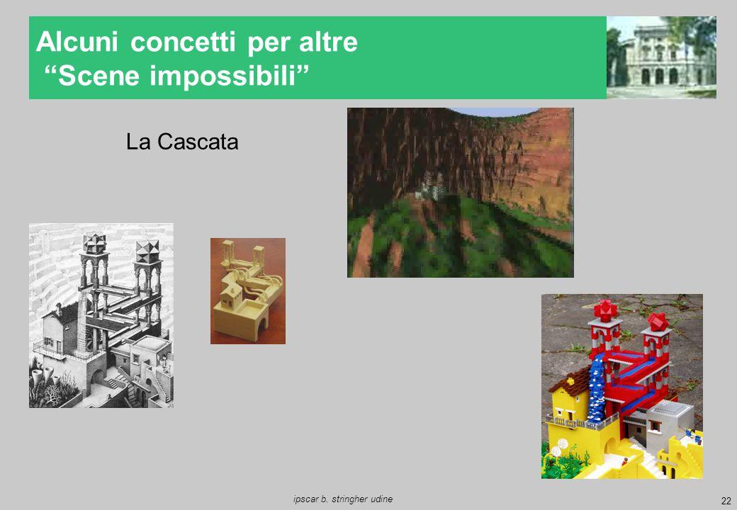 """22 ipscar b. stringher udine Alcuni concetti per altre """"Scene impossibili"""" La Cascata"""
