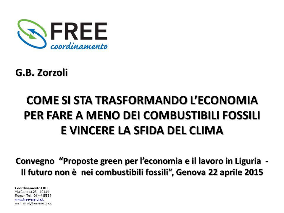 Coordinamento FREE Via Genova, 23 – 00184 Roma - Tel.