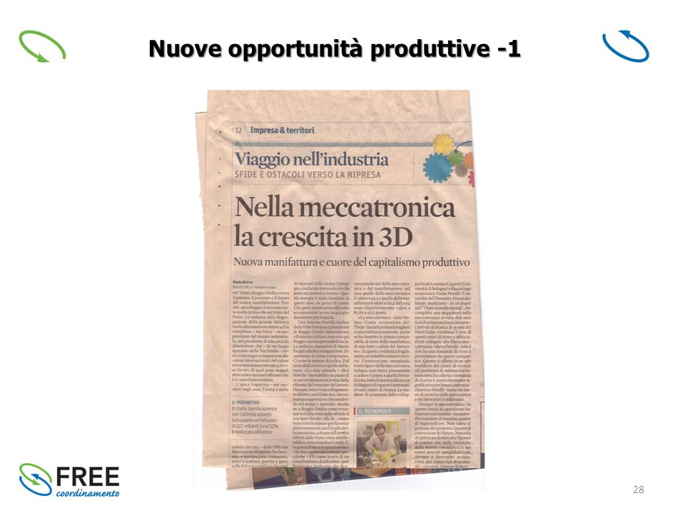 28 Nuove opportunità produttive -1