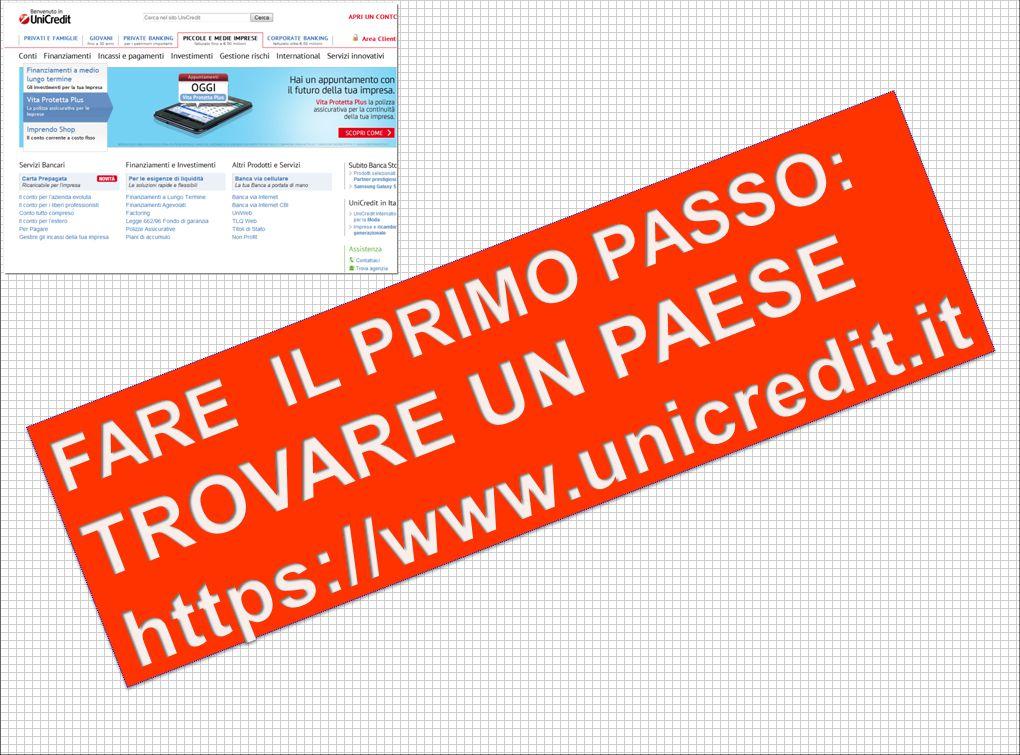 41 Portale UniCredit International: trova il mercato Ricercare il mercato più promettente 1 150 guide Paese 1.200 categorie di prodotto