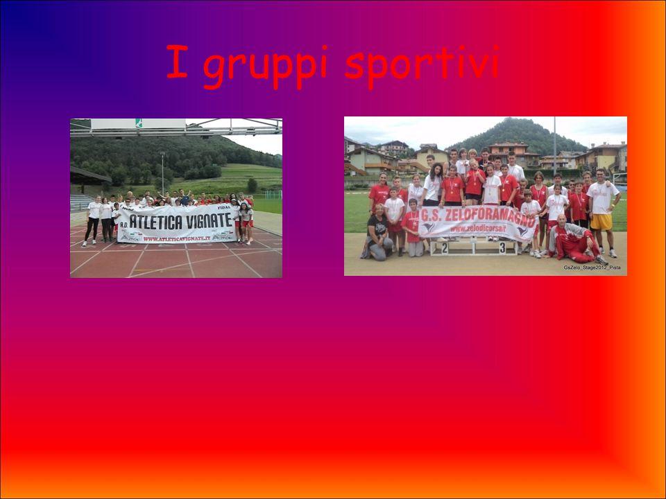 I gruppi sportivi