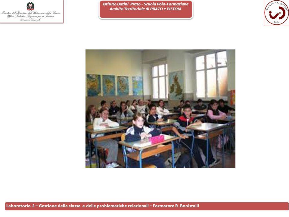 Istituto Datini Prato - Scuola Polo-Formazione Ambito Territoriale di PRATO e PISTOIA 17 Laboratorio 2 – Gestione della classe e delle problematiche r