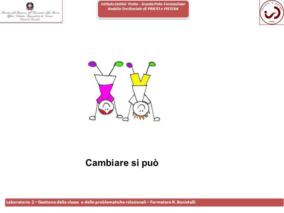Istituto Datini Prato - Scuola Polo-Formazione Ambito Territoriale di PRATO e PISTOIA 18 Laboratorio 2 – Gestione della classe e delle problematiche r