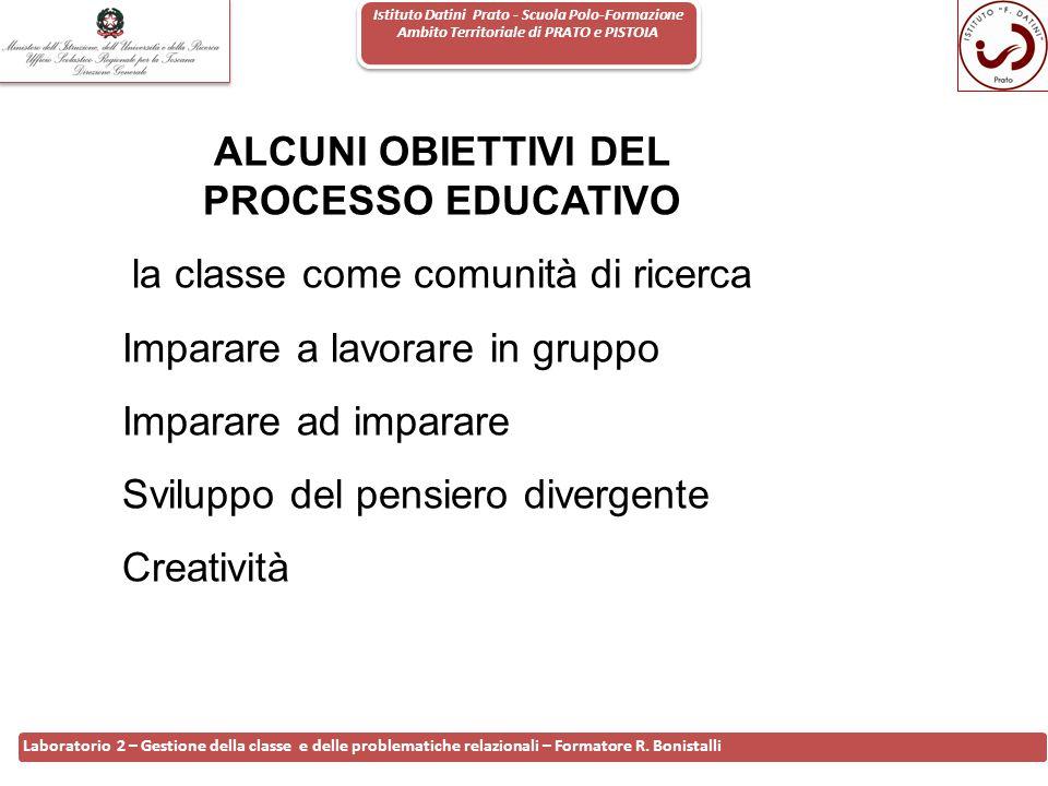 Istituto Datini Prato - Scuola Polo-Formazione Ambito Territoriale di PRATO e PISTOIA 21 Laboratorio 2 – Gestione della classe e delle problematiche r