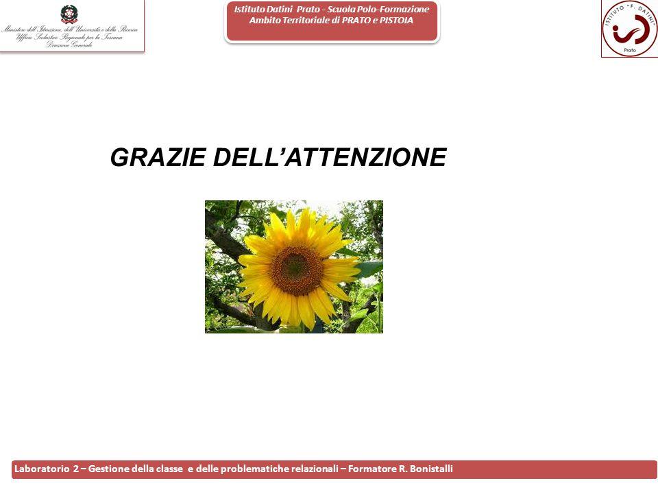 Istituto Datini Prato - Scuola Polo-Formazione Ambito Territoriale di PRATO e PISTOIA 25 Laboratorio 2 – Gestione della classe e delle problematiche r