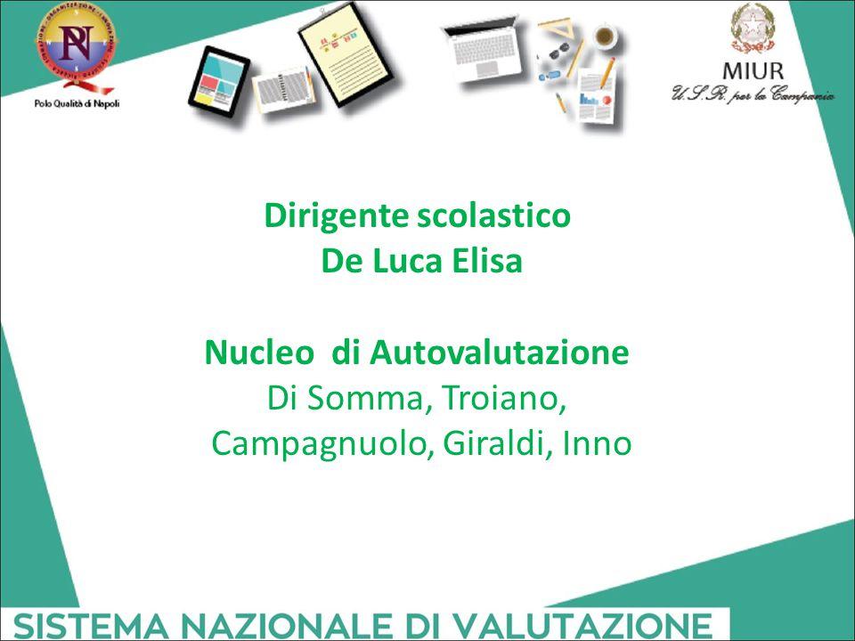 Dirigente scolastico De Luca Elisa Nucleo di Autovalutazione Di Somma, Troiano, Campagnuolo, Giraldi, Inno