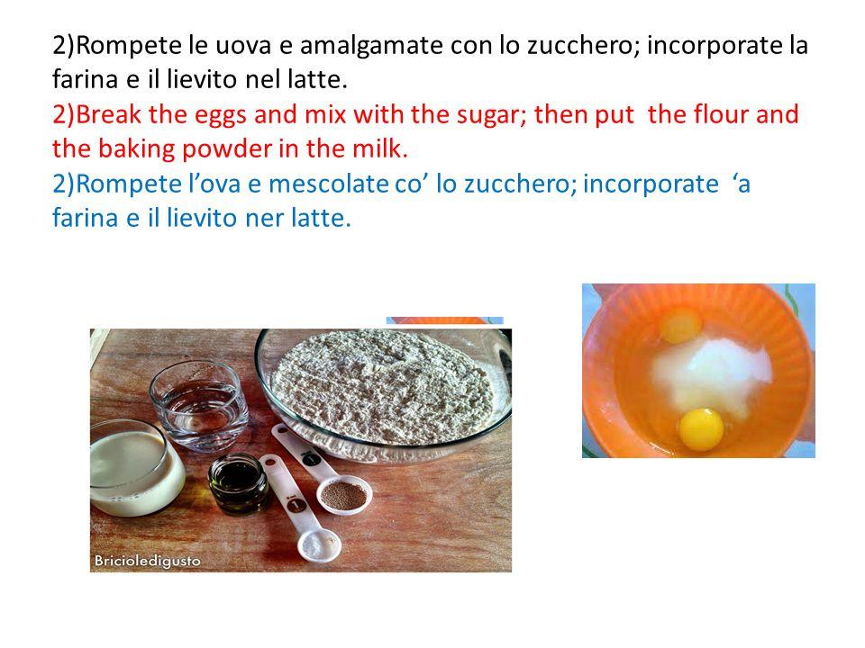 3)Unite le nocciole, l'uva e il cioccolato e mescolate.