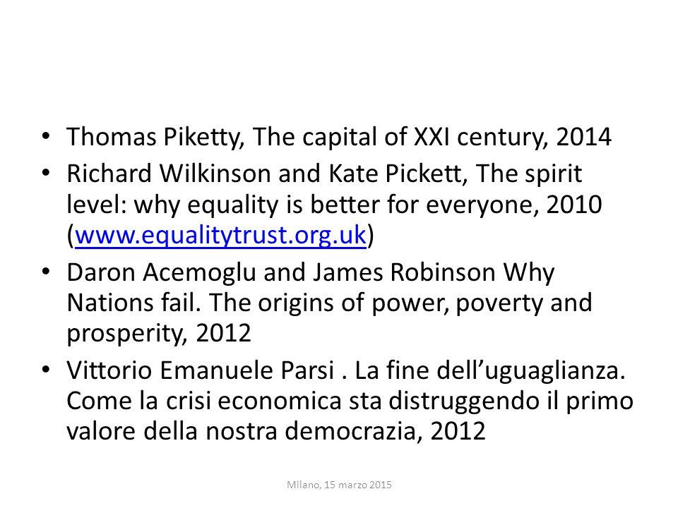 IN COSA CONSISTE IL LAVORO DI PIKETTY  Analisi della diseguaglianza nella ricchezza patrimoniale e nella distribuzione personale dei redditi, dal 18° secolo al 2010 in 20 paesi.