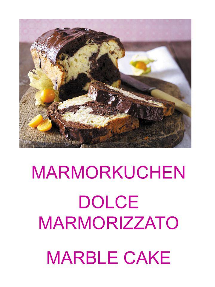 MARMORKUCHEN DOLCE MARMORIZZATO MARBLE CAKE