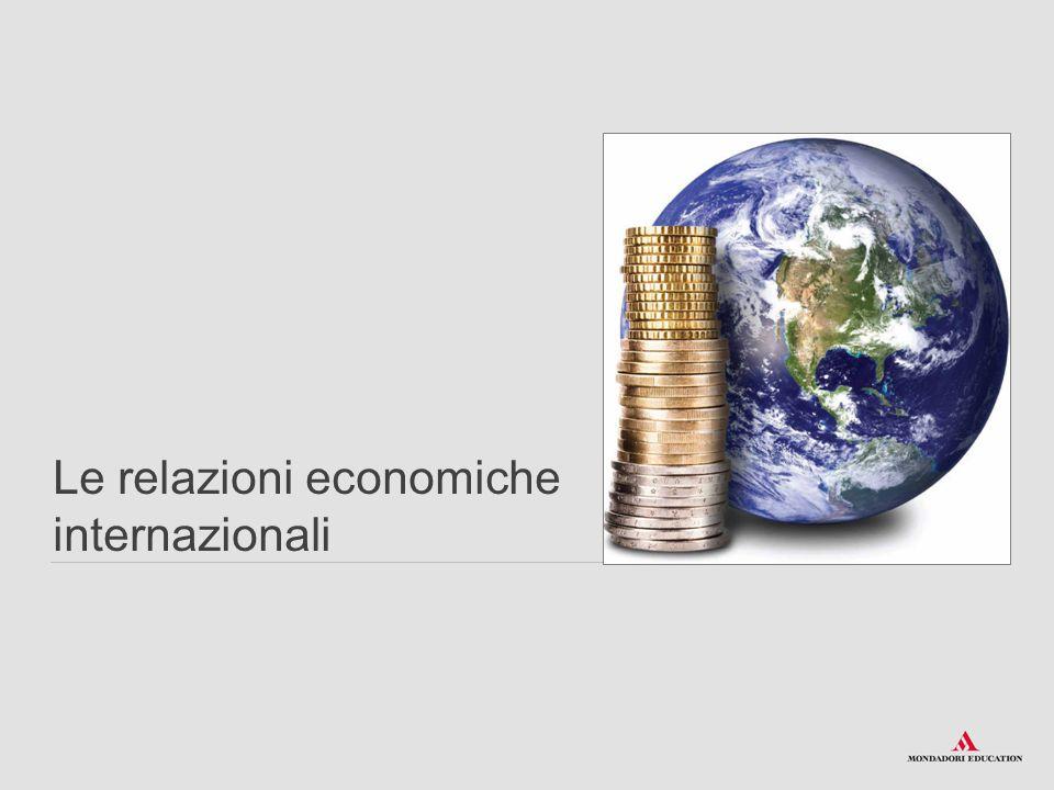 Le relazioni economiche internazionali