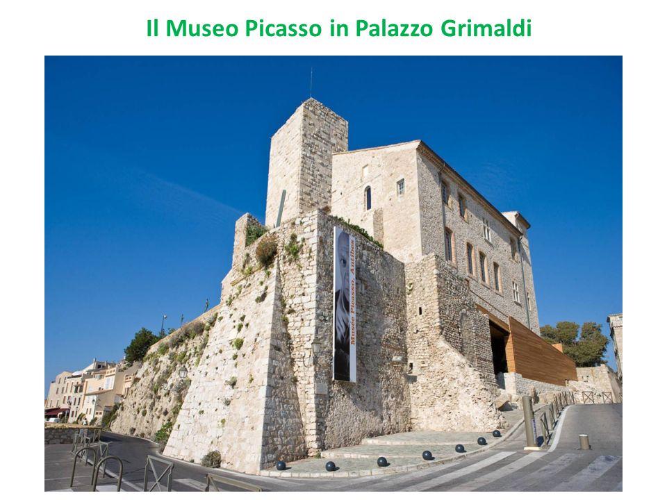 Il Museo Picasso in Palazzo Grimaldi