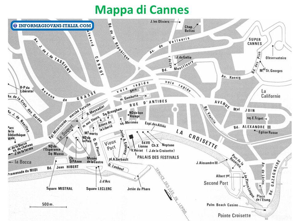 Mappa di Cannes