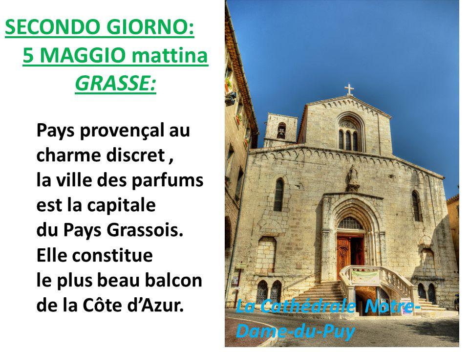 Pays provençal au charme discret, la ville des parfums est la capitale du Pays Grassois. Elle constitue le plus beau balcon de la Côte d'Azur. SECONDO