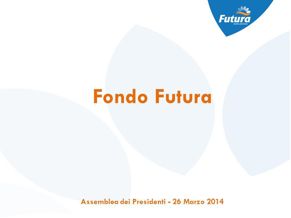 Fondo Futura Assemblea dei Presidenti - 26 Marzo 2014