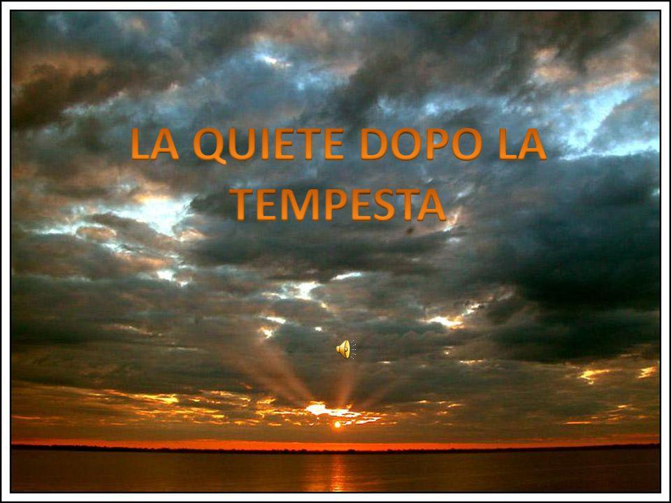 La poesia di Giacomo Leopardi La quiete dopo la tempesta è stata scritta tra il 17 e il 20 settembre 1829 mentre si trovava a Recanati nella sua casa natale e fu pubblicata per la prima volta in Firenze nel 1831 e poi nell edizione Starita nel 1835.