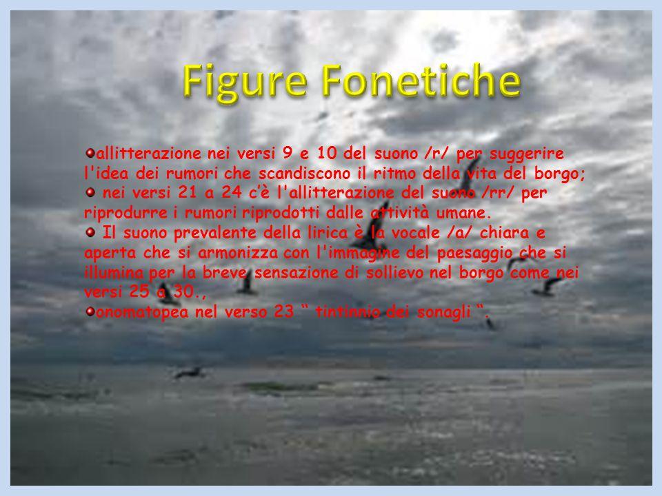 anafore: E nei versi 7-16-22-35-46 e se nei versi 52 e 53.