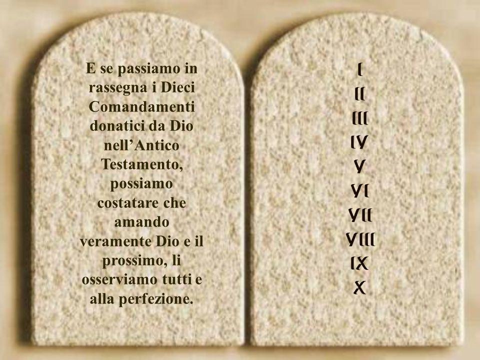 Andando al cuore della legge divina che Gesù ha sintetizzato nell'unico precetto dell'amore.