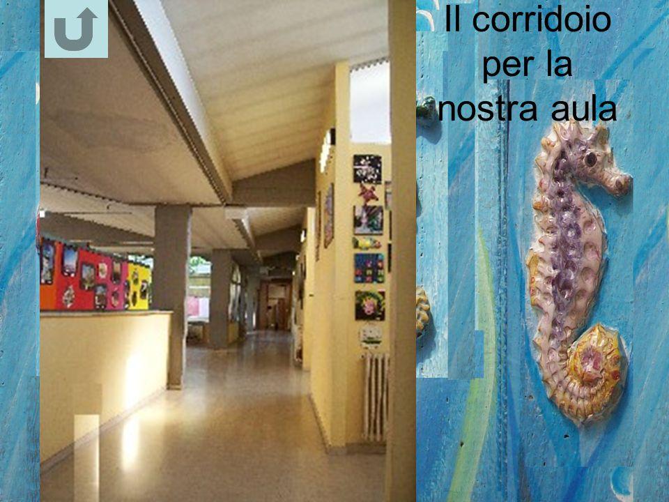 Il corridoio per la nostra aula