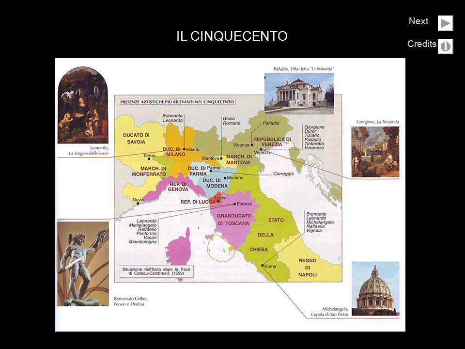 Il secolo dei grandi maestri Il Cinquecento fu un secolo di grandi conflitti politici e religiosi: la Spagna conquistò gran parte del territorio italiano e la Chiesa cattolica attraversò una profonda crisi a causa della Riforma protestante.