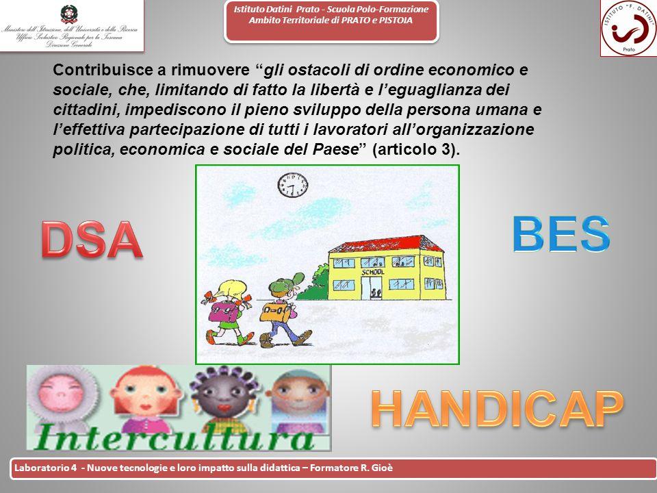 Istituto Datini Prato - Scuola Polo-Formazione Ambito Territoriale di PRATO e PISTOIA 3 Laboratorio 4 - Nuove tecnologie e loro impatto sulla didattic