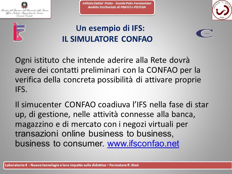 Istituto Datini Prato - Scuola Polo-Formazione Ambito Territoriale di PRATO e PISTOIA 38 Laboratorio 4 - Nuove tecnologie e loro impatto sulla didatti