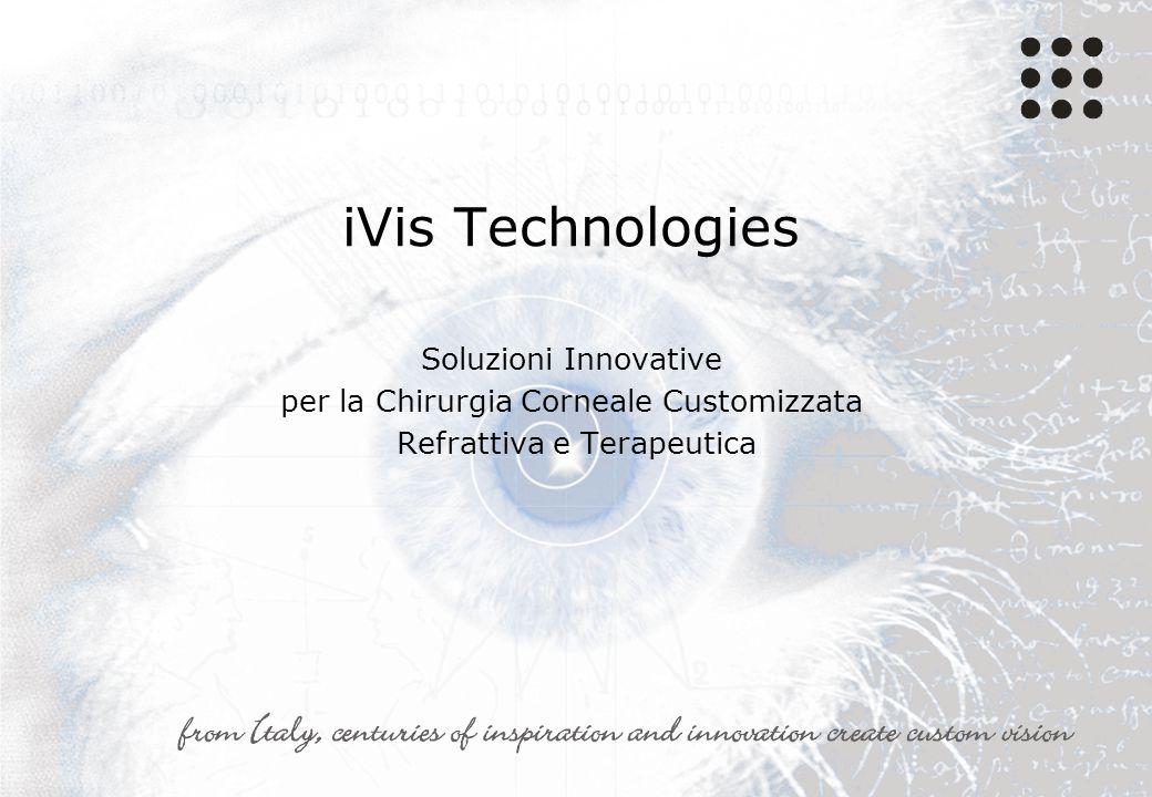 iVis Technologies Soluzioni Innovative per la Chirurgia Corneale Customizzata Refrattiva e Terapeutica