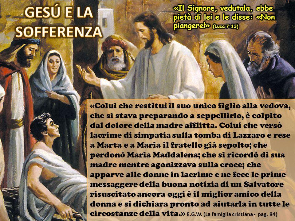 «… Maria, detta Maddalena… Giovanna, moglie di Chuza amministratore di Erode, e Susanna, e molte altre che lo assistevano coi loro beni» (Luca 8:2-3) Luca menziona le donne che, oltre ad ascoltare le predicazioni di Gesù, avevano una parte attiva nel suo ministero: servivano Gesù.