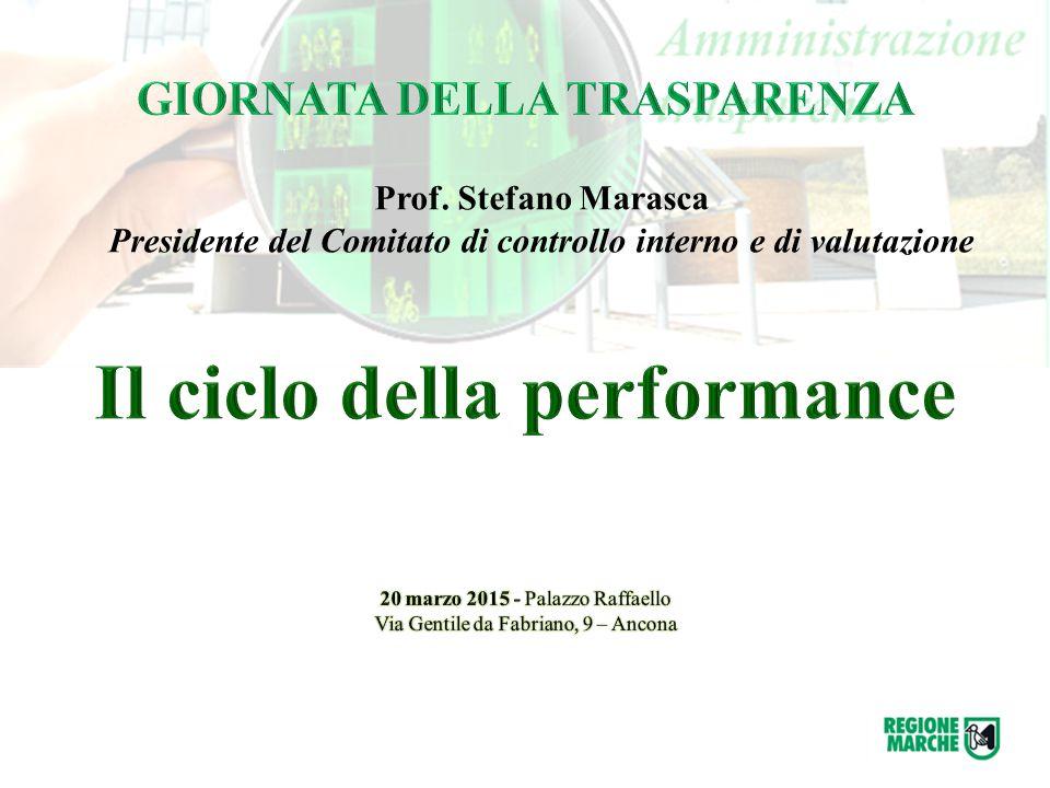 Prof. Stefano Marasca Presidente del Comitato di controllo interno e di valutazione