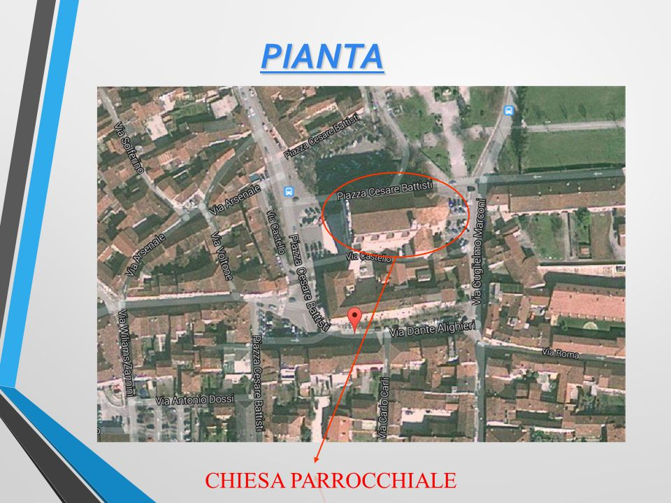 PIANTA CHIESA PARROCCHIALE