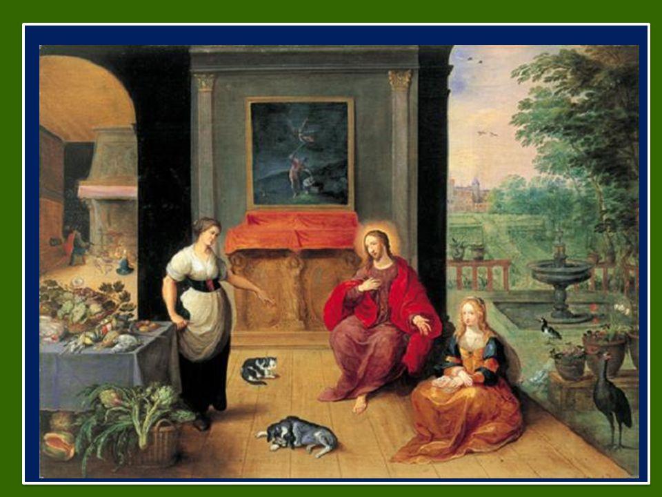 Gesù passa per il loro villaggio e – dice il testo – Marta lo ospitò (cfr 10,38).