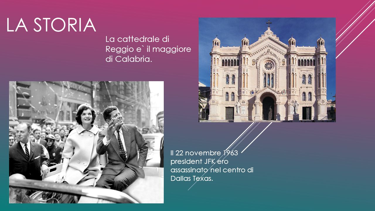 LA STORIA La cattedrale di Reggio e` il maggiore di Calabria.