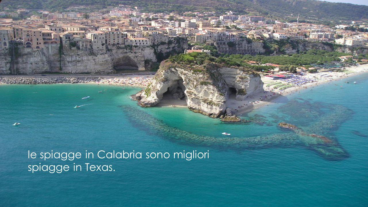 le spiagge in Calabria sono migliori spiagge in Texas.