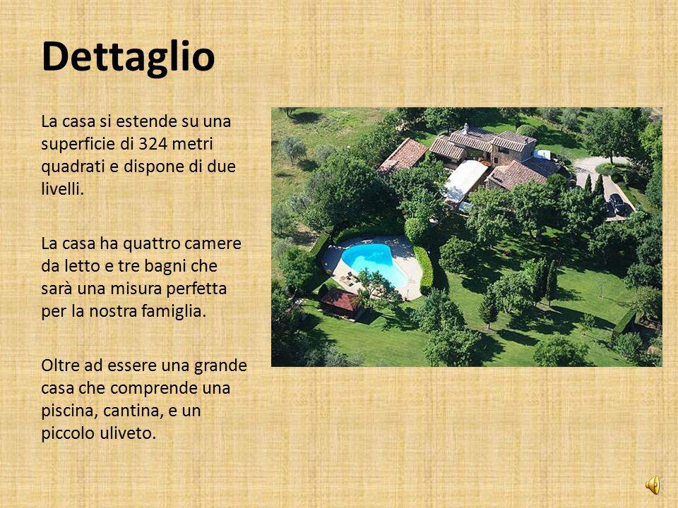 Dettaglio La mia nuova casa sarà nella regione Toscana di Italia. La casa è a metà strada Fra Siena e Firenze, nei pressi del borgo di Castellina in C