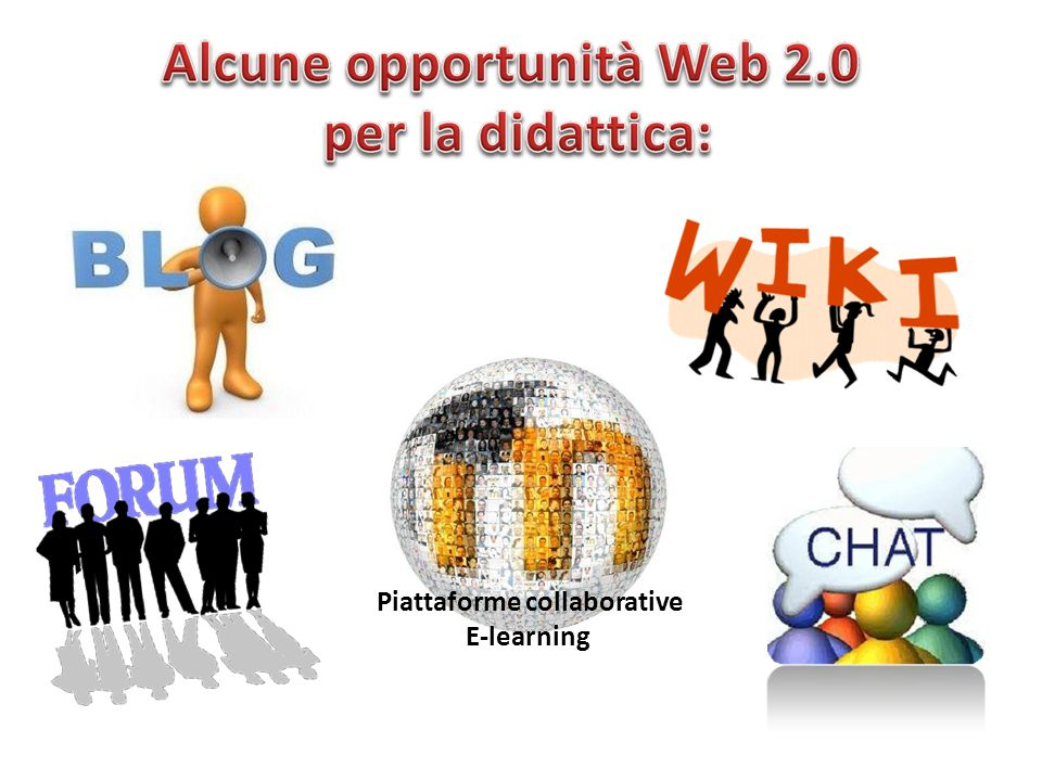 Piattaforme collaborative E-learning