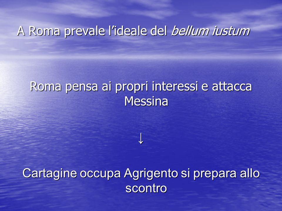 Roma espelle i Cartaginesi da Messina e sconfigge Gerone, re di Siracusa 264 a.
