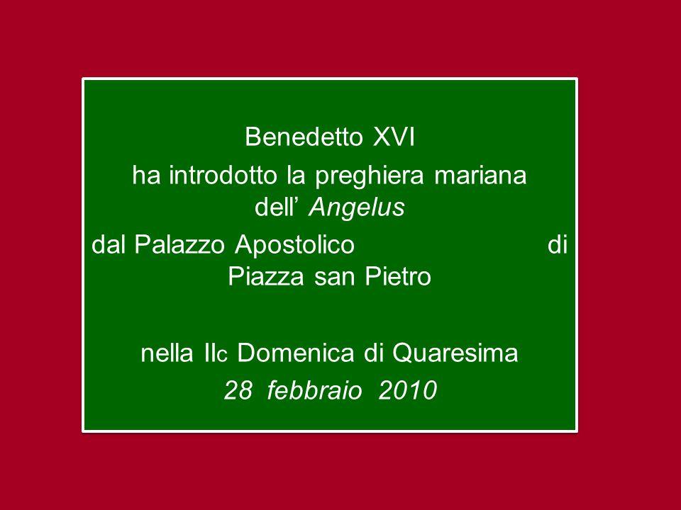 In questa seconda domenica di Quaresima la liturgia è dominata dall'episodio della Trasfigurazione,