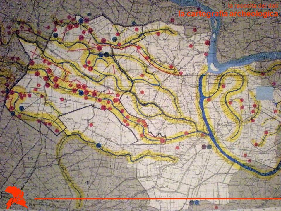 la cartografia archeologica la raccolta dei dati