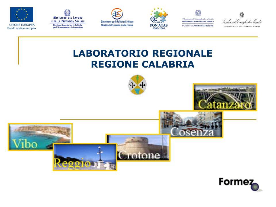 2 LABORATORIO REGIONALE REGIONE CALABRIA