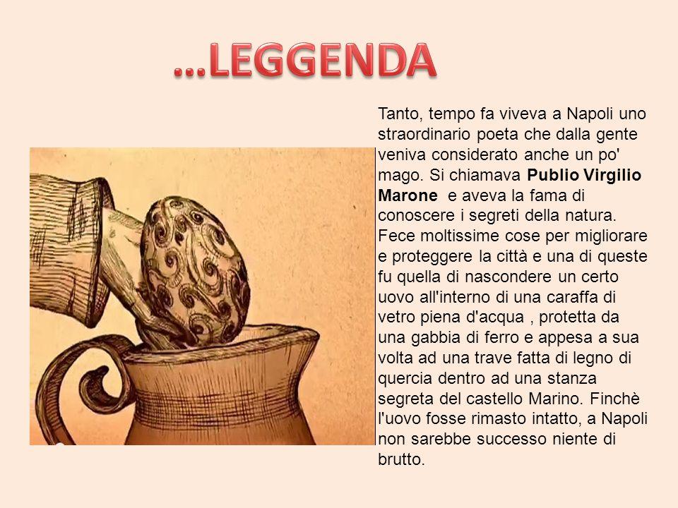 Tanto, tempo fa viveva a Napoli uno straordinario poeta che dalla gente veniva considerato anche un po' mago. Si chiamava Publio Virgilio Marone e ave