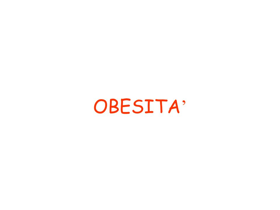 OBESITA '
