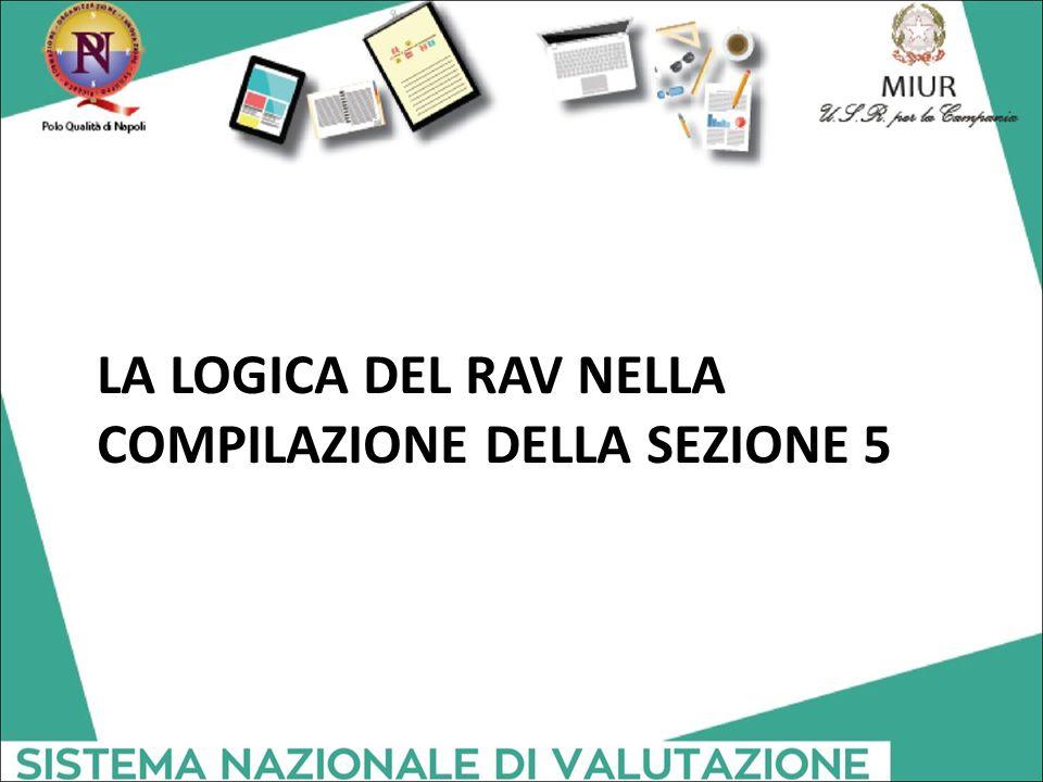 LA LOGICA DEL RAV NELLA COMPILAZIONE DELLA SEZIONE 5