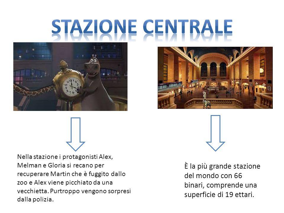 È la più grande stazione del mondo con 66 binari, comprende una superficie di 19 ettari.