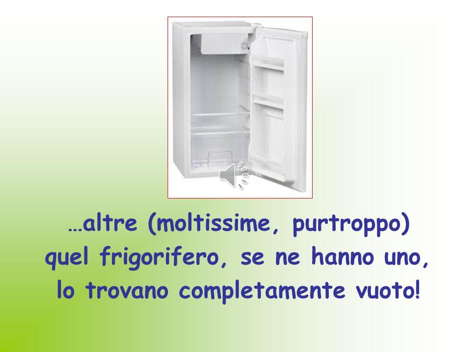 """La FAME è una sensazione fisica comune a tutti gli esseri umani... Ma mentre tantissime persone aprono """"il frigorifero"""" e soddisfano il bisogno di cib"""