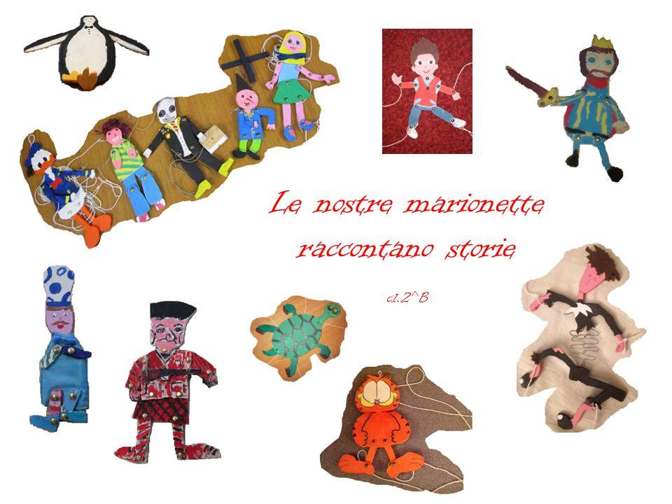Le nostre marionette raccontano storie cl.2^B