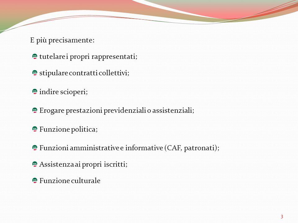 SINDACATI DI NICCHIA SINDACATI DI MASSA Susanna CamussoAnnamaria FurlanCarmelo Barbagallo 4