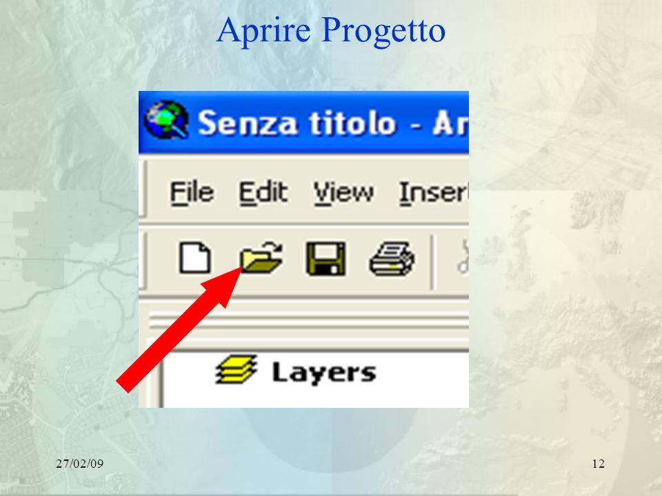 27/02/0912 Aprire Progetto