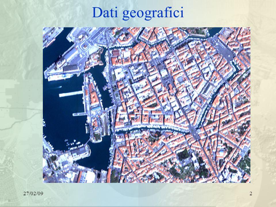 27/02/092 Dati geografici